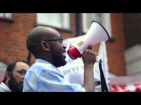 UK demonstration demands Muslim armies liberate Palestine