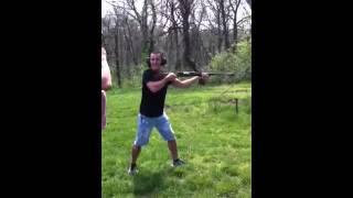 Shooting an Elephant Gun