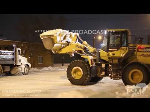 02-19-2018 Rapid City, South Dakota - Heavy Duty Snow Removal