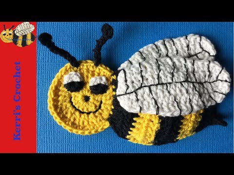 Crochet Applique Tutorials – Crochet Bee Tutorial