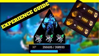 EXPERIENCE FARMING GUIDE! Might and Magic Elemental Guardians