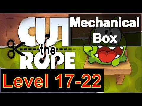 how-to-play-cut-the-rope-season-3-mechanical-box-level-17-22-with-3-stars-walkthrough