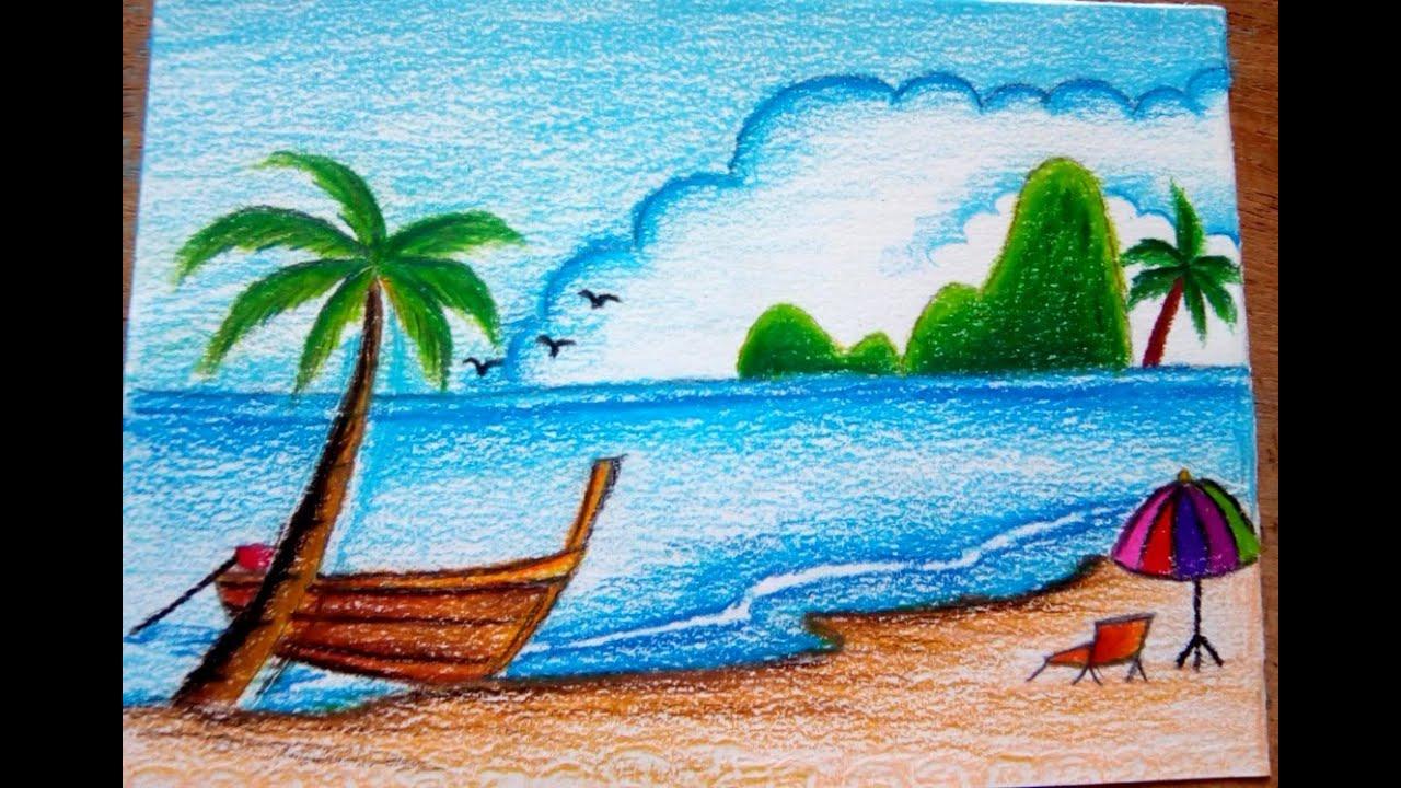 วาดร ปธรรมชาต ร มเเม น ำสวยๆส ไม How To Draw Landscape Scenery Of Beautiful Riverside Youtube ภาพศ ลปะ ภาพวาด วอลเปเปอร