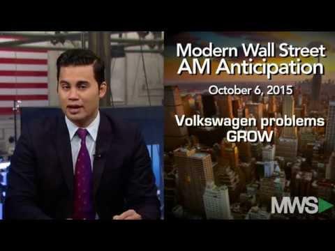 Modern Wall Street AM Anticipation: October 6, 2015