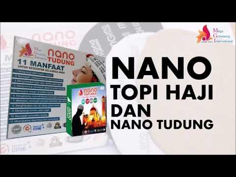 MGI Nano Tudung (Ciput)   Nano Topi Haji (Peci   Kopiah) - YouTube 4d046640ca
