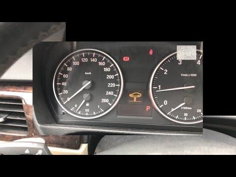 Senzor uzura placute frana / resetare martor placute frana BMW E90 (seria 3)