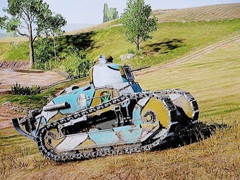 Battlefield 1 - Tanker - #48 Funny & Epic Moments - Light Tank Battles