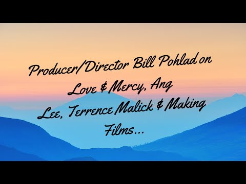 Podcast: Bill Pohlad on Love & Mercy, Ang Lee, Terrence Malick & Films