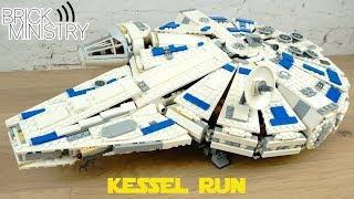 [Обзор] LEGO 75212 Star Wars ● Сокол Тысячелетия на Дуге Кесселя