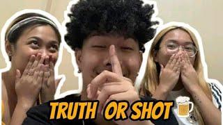 TRUTH OR SHOT CHALLENGE (MAY NALASING HAHAHAHAHA) | JOSHUA AGATEP FT. JOYCE AND JACQUI