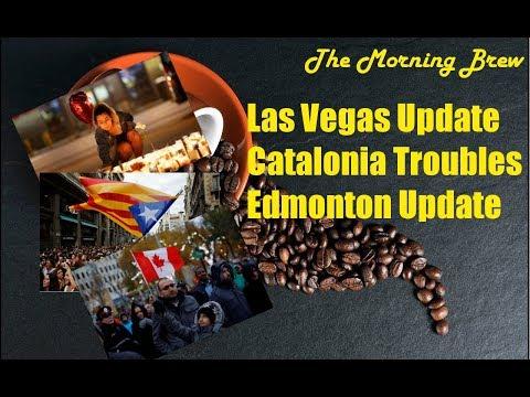 Las Vegas Update, Catalonia, and Edmonton Updates