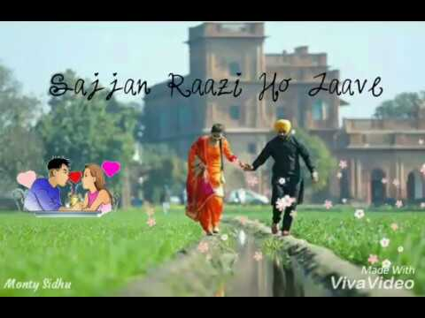 Sajjan Raazi Ho Jave  WhatsApp Status Video Satinder Sartaj Whatsapp Status Videos