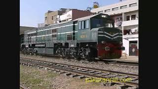 Pakistan Railways trains- assorted collection