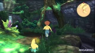 NI NO KUNI Wrath of the White Witch Walkthrough part 1 HD gameplay DEMO walkthrough part 1 PS3 RPG