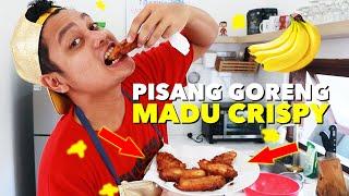 MASAK PISANG GORENG MADU CRISPY GAMPANG BGT !!