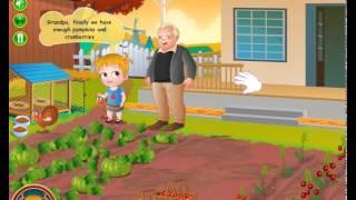 Baby Hazel Thanksgiving Fun - Dora the Explorer - Baby Hazel Game Movie