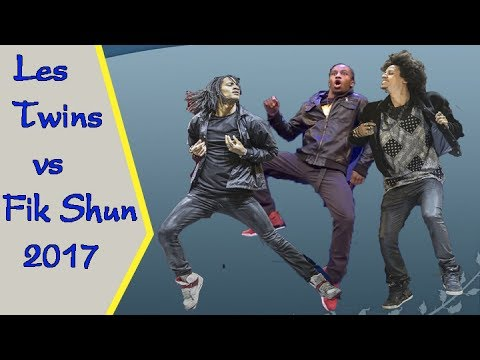 Hip hop 2017 - Les Twins vs Fik Shun - Best Dance Of The World 2017 P2