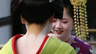 日本は本当に大きな愛で包まれてますね... 舞妓さんのにじみ出る内面の美しさに外国人が感動(海外の反応)Bluenote