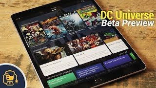 DC Universe Streaming Service App - Beta Preview   SDCC 2018