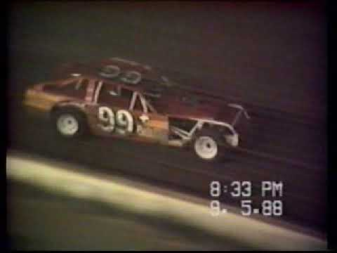 Fayette County Speedway Labor Day 1988 IMCA Mods