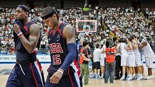Greece vs USA 2006 FIBA Basketball World Championship Semi-Finals FULL GAME English