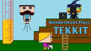 #1 Wonderment Plays Tekkit - Let's Go Punch some Trees
