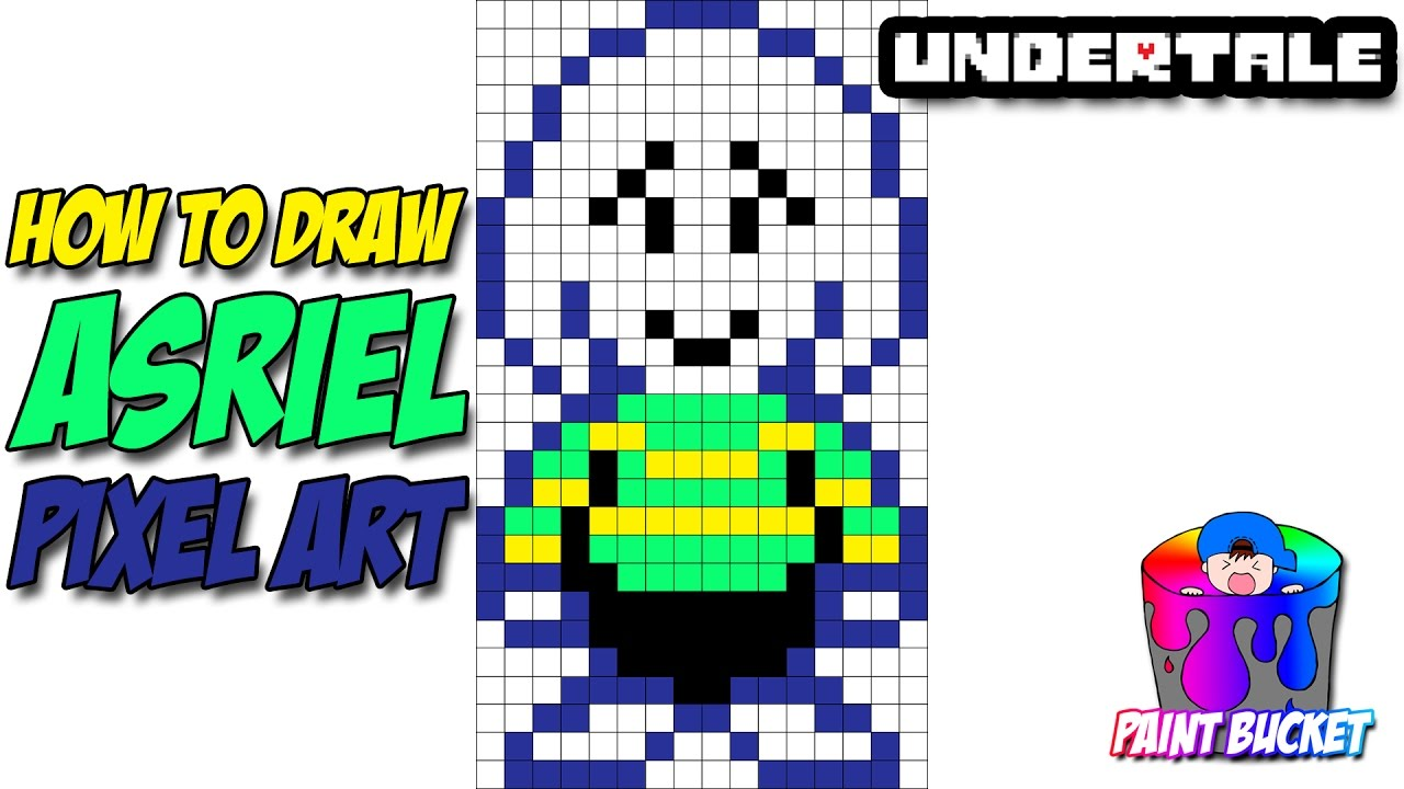 How To Draw Asriel Undertale Step By Step Drawing Tutorial Youtube