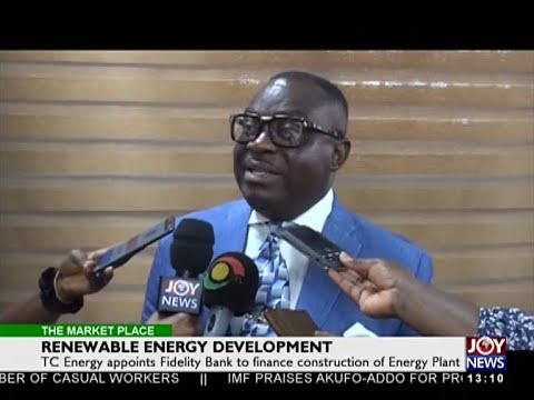 Renewable Energy Development - The Market Place on Joy News (26-4-18)