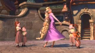 Repeat youtube video Enredados - Baile en el Reino [España] [HD]