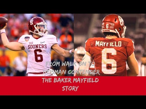 From TWO time WALK ON, To HEISMAN favorite: The BAKER MAYFIELD STORY