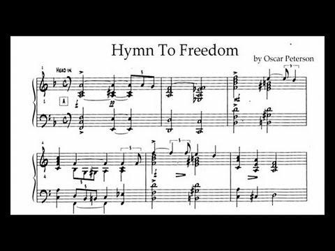 Oscar Peterson - Hymn To Freedom (transcription)