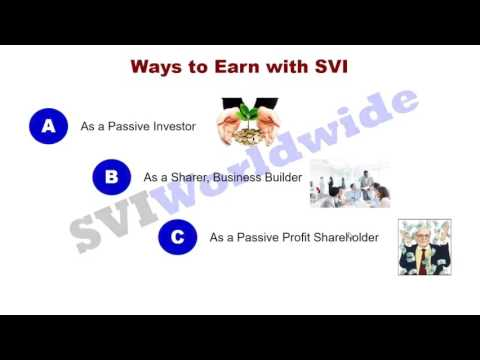 How to earn money with SVI as a Passive Investor