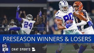 Cowboys Report: Preseason Winners & Losers Featuring Rico Gathers And Injury Updates