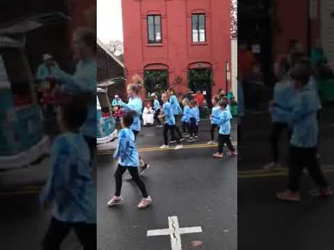 Panache at The Jacksonville Victorian Christmas Parade 2018
