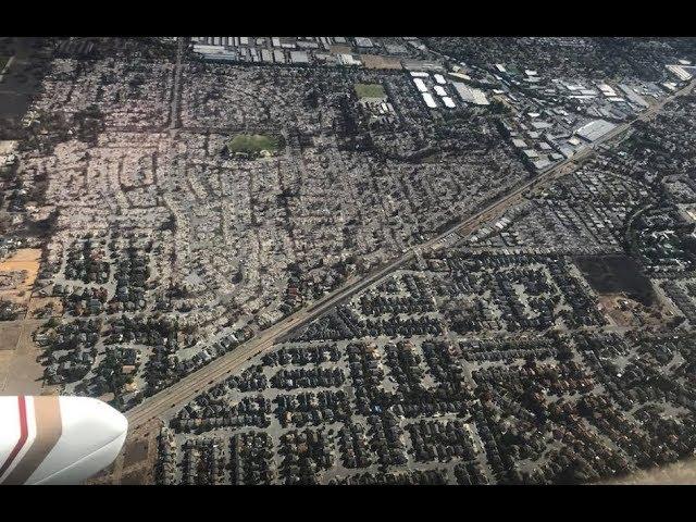 Santa Rosa Fire, missing aircraft, and landing at Ukiah (KUKI)