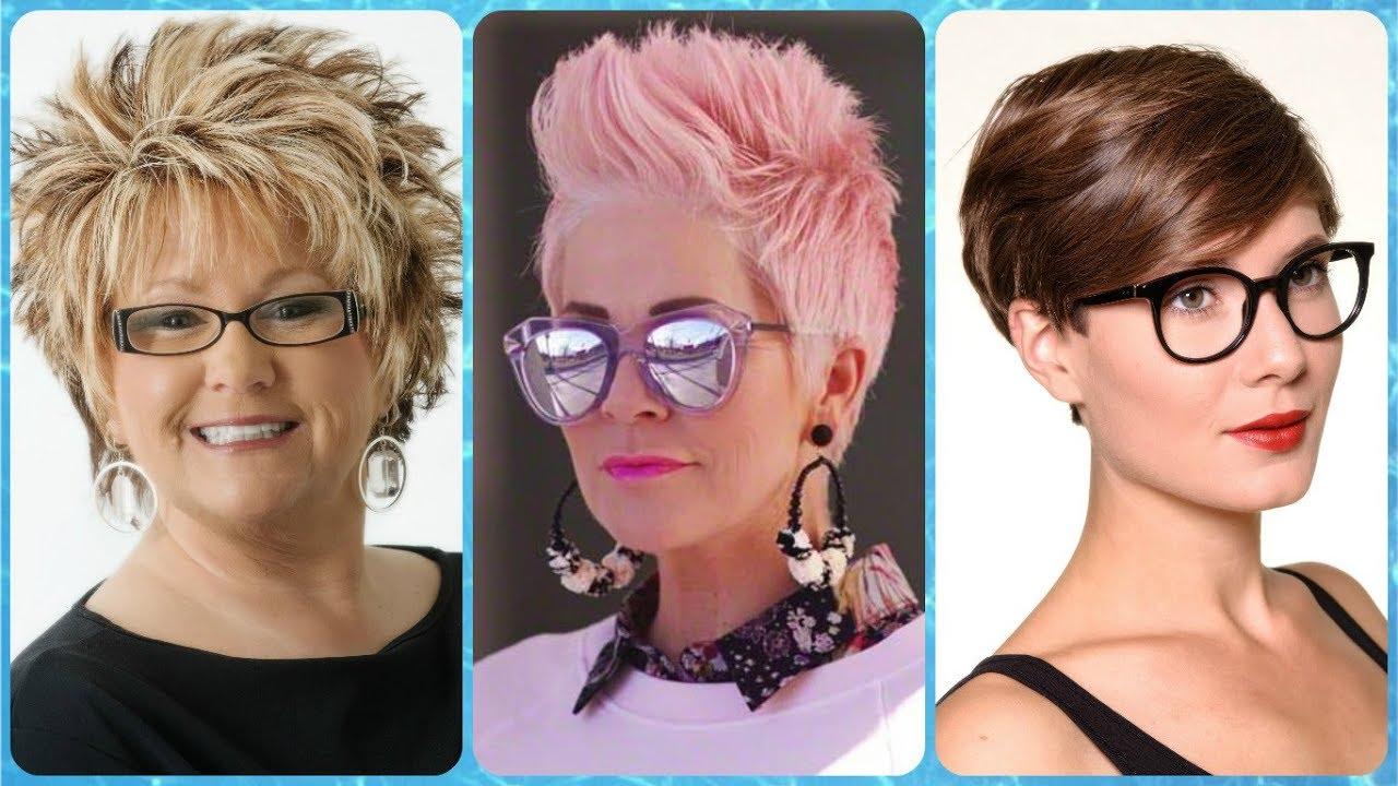 b6c578fc45 20 nuevos Ideas 💘 de mujeres con pelo corto y lentes - YouTube