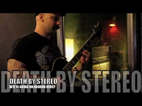 DEATH BY STEREO -  in the studio!