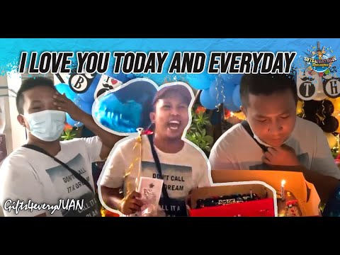 I LOVE YOU TODAY AND EVERYDAY - SURPRISE DELIVERY IN MALATE MANILA   MAII YANG MAGNETICO