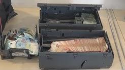 2 Geldautomatensprenger festgenommen - Beweismittel + Fluchtfahrzeug + O-Töne in Köln am 21.12.16
