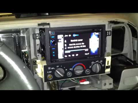 Finished Silverado Double Din Conversion Funnycat Tv