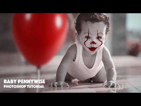 IT CLOWN | PennyWise | Joker Manipulation Photoshop Tutorial thumbnail