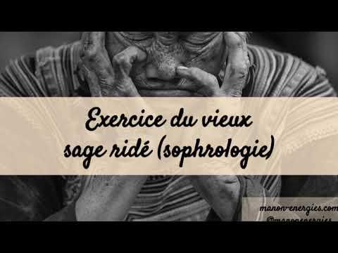 Exercice du vieux sage ridé (sophrologie)