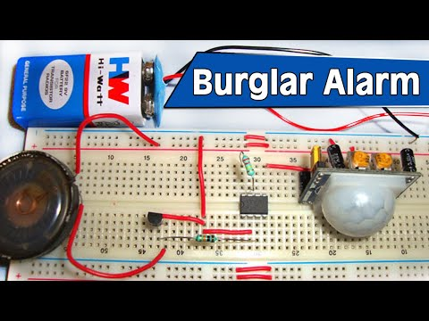 Burglar Alarm Project Youtube