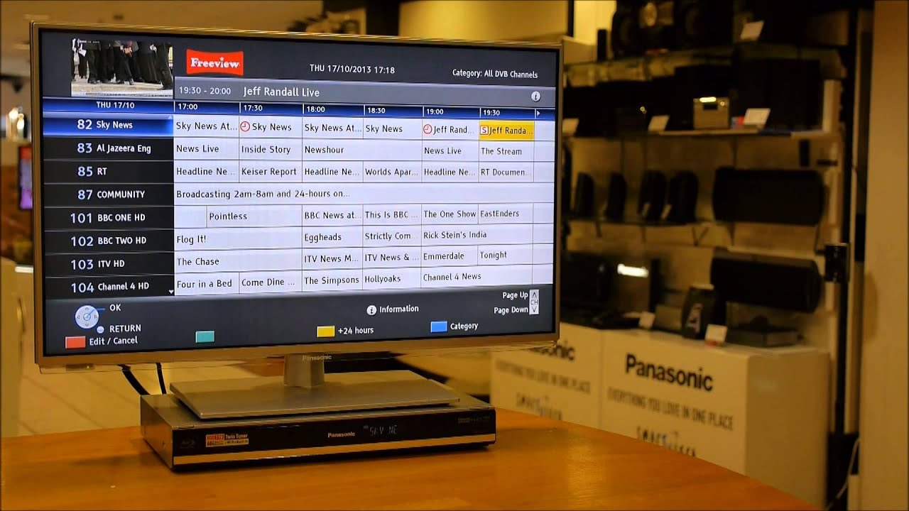 Download How to remove series link & timer recordings from Panasonic DVD/HDD recorders