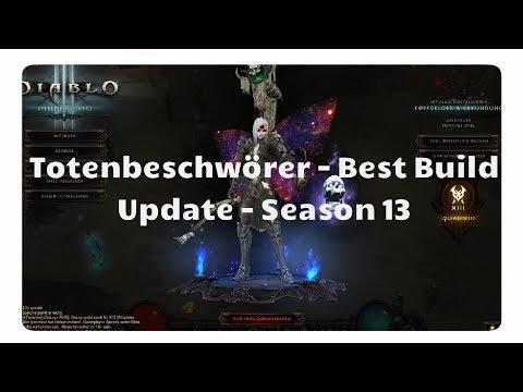 Totenbeschwörer: Der beste Build für Season 13 (Update, Autolancer)