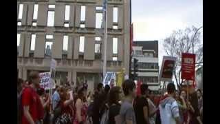 Grève Hiver 2012_ Université du Québec à Montréal 2 Une procession d
