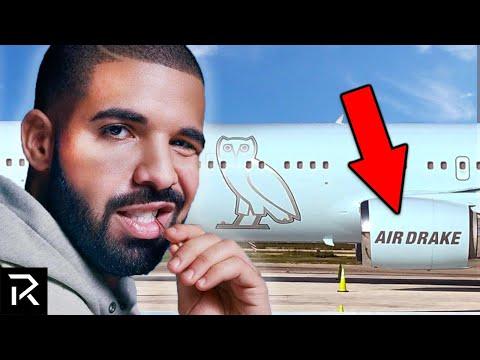 Inside Drake's $185 Million Private Jet, Air Drake