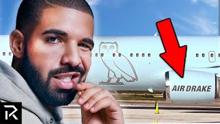 Inside Drake's $185 Million Private Jet, Air Drake