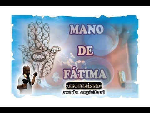 MANO DE FATIMA SU SIGNIFICADO - RITUAL PARA LIMPIAR Y ACTIVARLA - ESOTERISMO AYUDA ESPIRITUAL