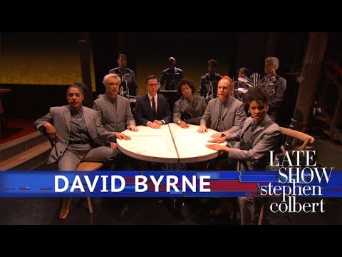 Download David Byrne Performs 'Everybody's Coming To My House'